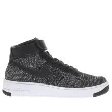 Nike Black Air Force 1 Ultra Mid Flyknit Unisex Youth