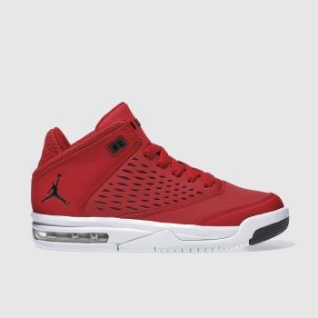 Nike Jordan Red Nike Flight Origin 4 Unisex Youth
