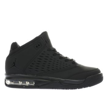 Nike Jordan Black Nike Flight Origin 4 Unisex Youth