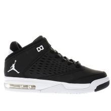 Nike Jordan Black & White Flight Origin 4 Unisex Youth