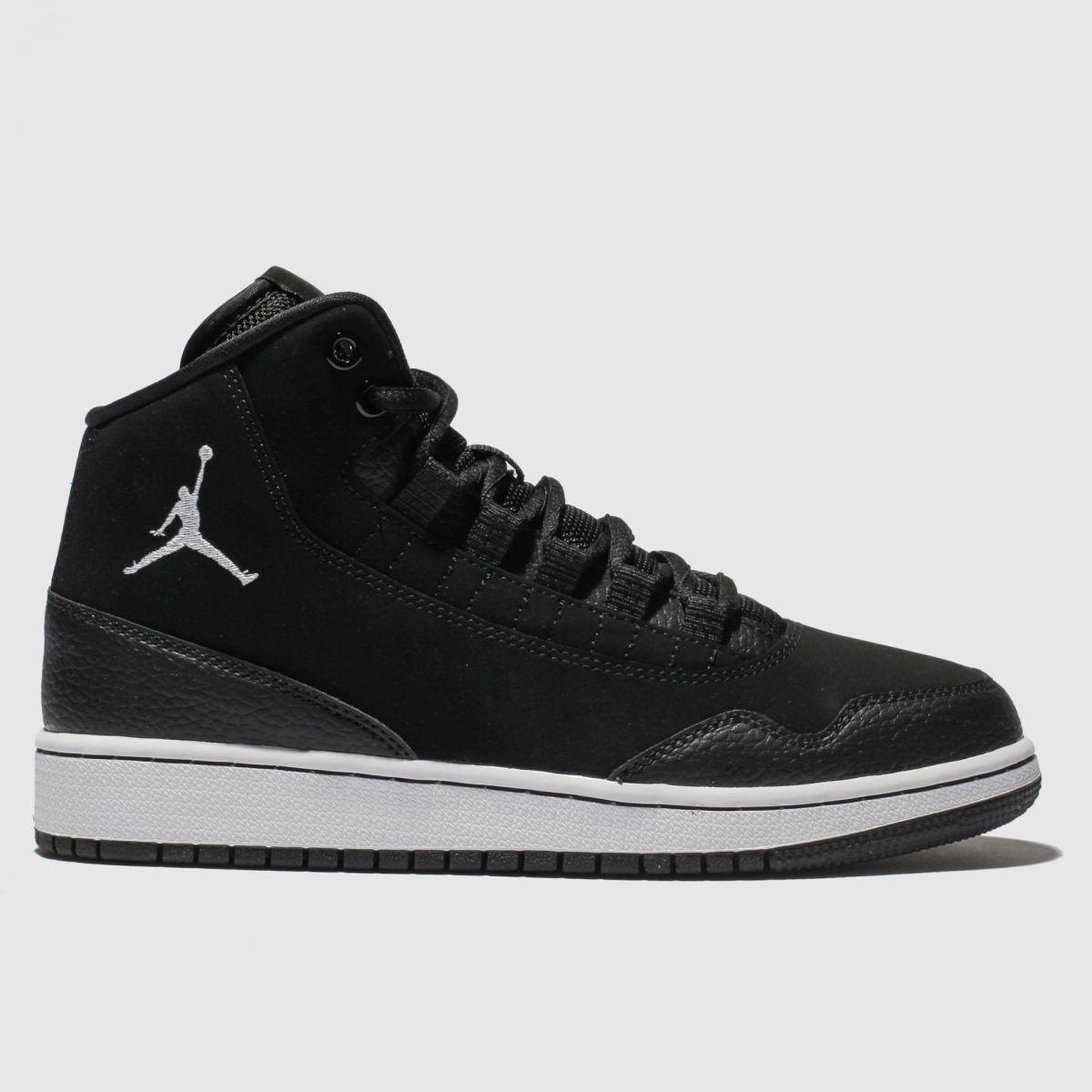 Nike Jordan Black & White Jordan Executive Trainers Youth