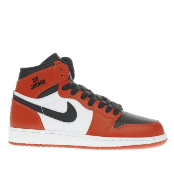 Nike Jordan Red 1 Retro High Unisex Youth