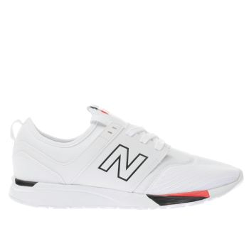 New Balance White 247 Unisex Youth