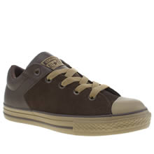 Converse Dark Brown All Star High Street Unisex Youth