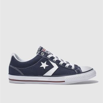 Converse Navy Star Player Oxford Unisex Youth