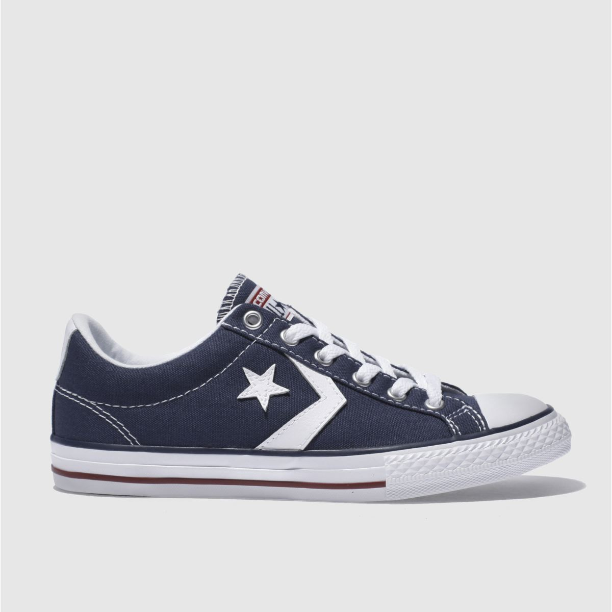 Converse Navy & White Star Player Oxford Trainers Youth