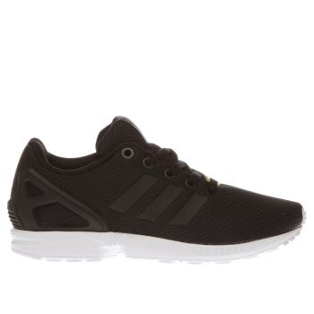 Unisex Adidas Black Zx Flux Unisex Youth