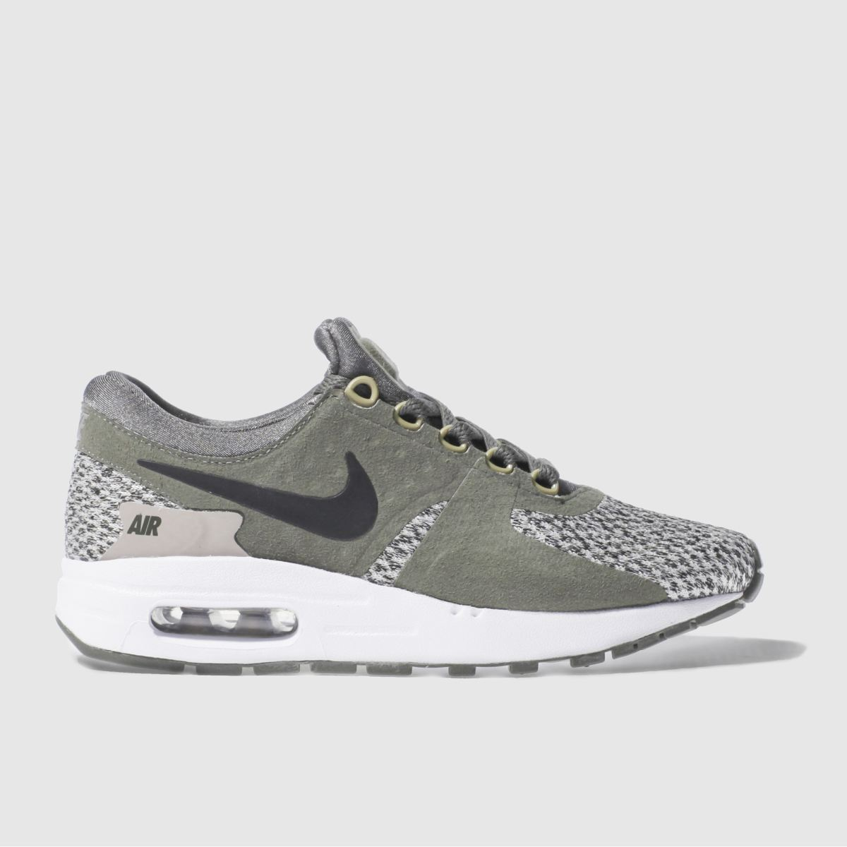 nike khaki air max zero essential Youth Trainers