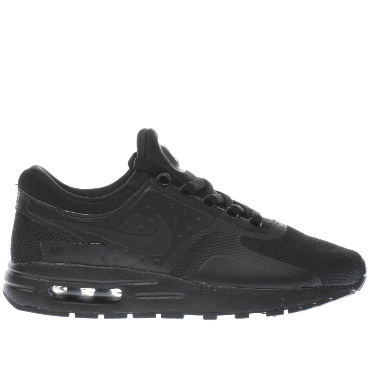 nike black air max zero essential Youth Trainers