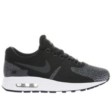 Nike Black & Grey Air Max Zero Se Unisex Youth