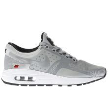 Nike Silver Air Max Zero Unisex Youth