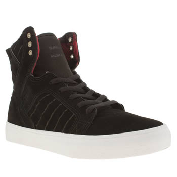 Supra Black Skytop Unisex Youth