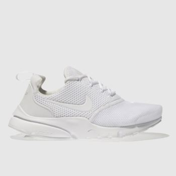 Nike White Presto Fly Unisex Youth