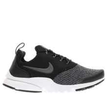 Nike Black & Grey Presto Fly Unisex Youth