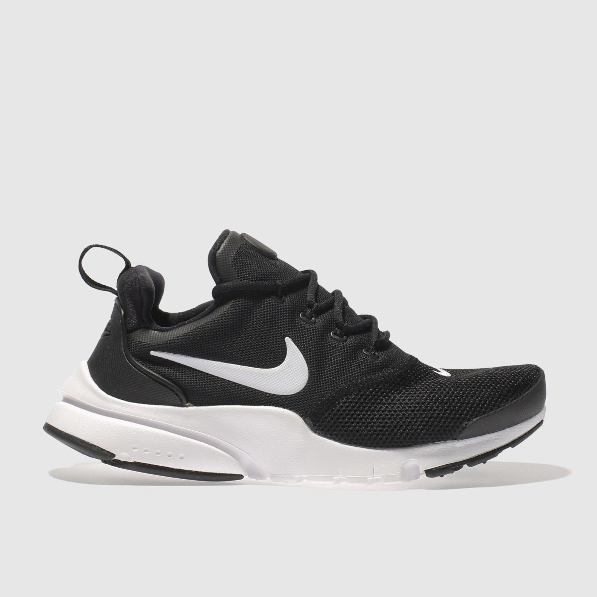 Nike Black & White Presto Fly Unisex Youth Youth