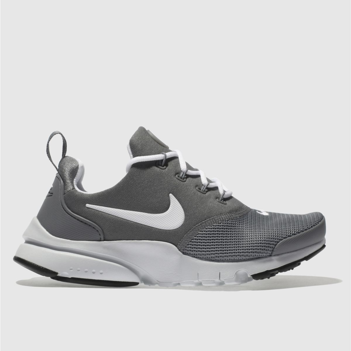 Nike Grey Presto Fly Youth Trainers