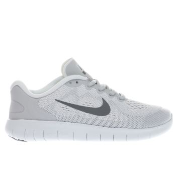 Nike Light Grey FREE RUN 2 Unisex Youth