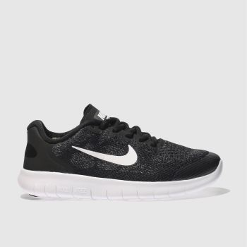 Nike Black Free Run 2 Unisex Youth