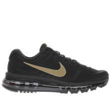 Nike Black & Gold Air Max 2017 Unisex Youth