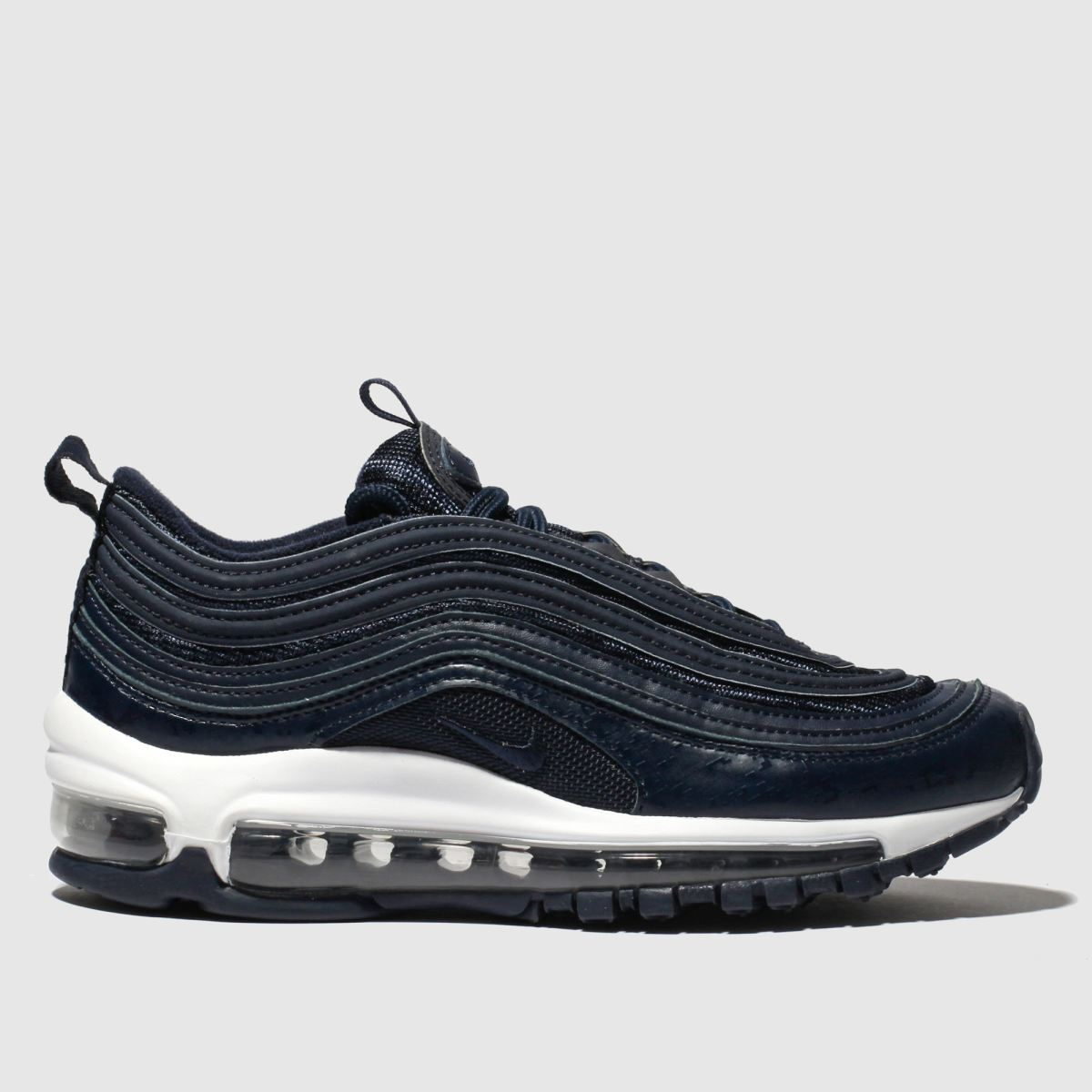 Nike Navy & White Air Max 97 Trainers Youth