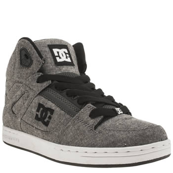 Dc Shoes Dark Grey Rebound Tx Se Unisex Youth