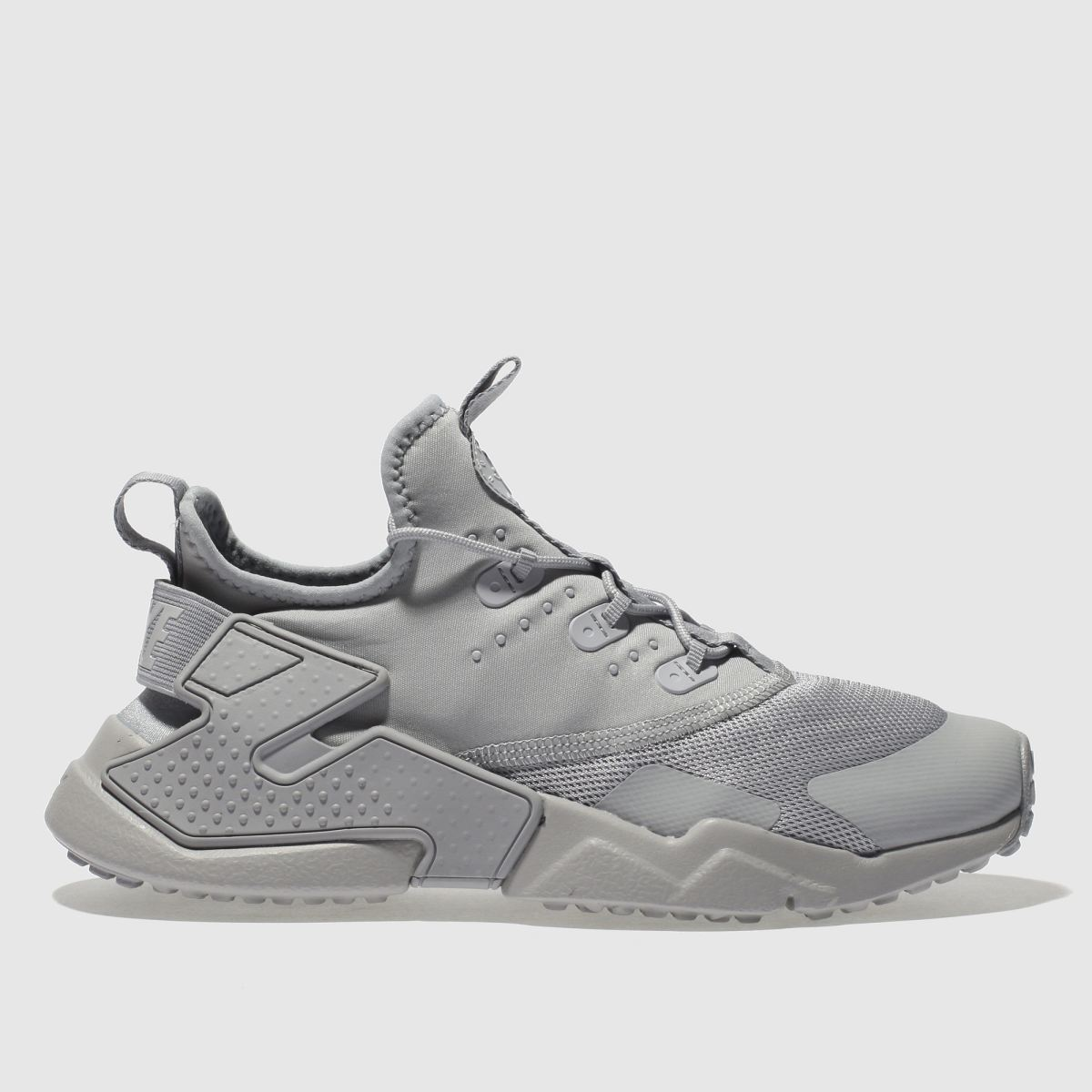 Nike Light Grey Huarache Run Drift Youth Trainers