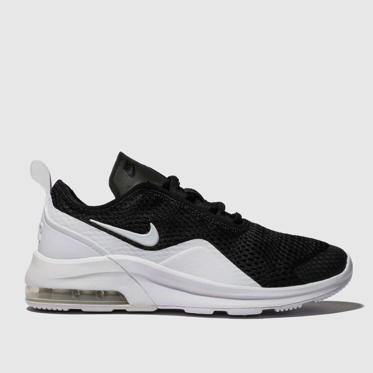Nike Black & White Air Max Motion 2 Trainers Youth