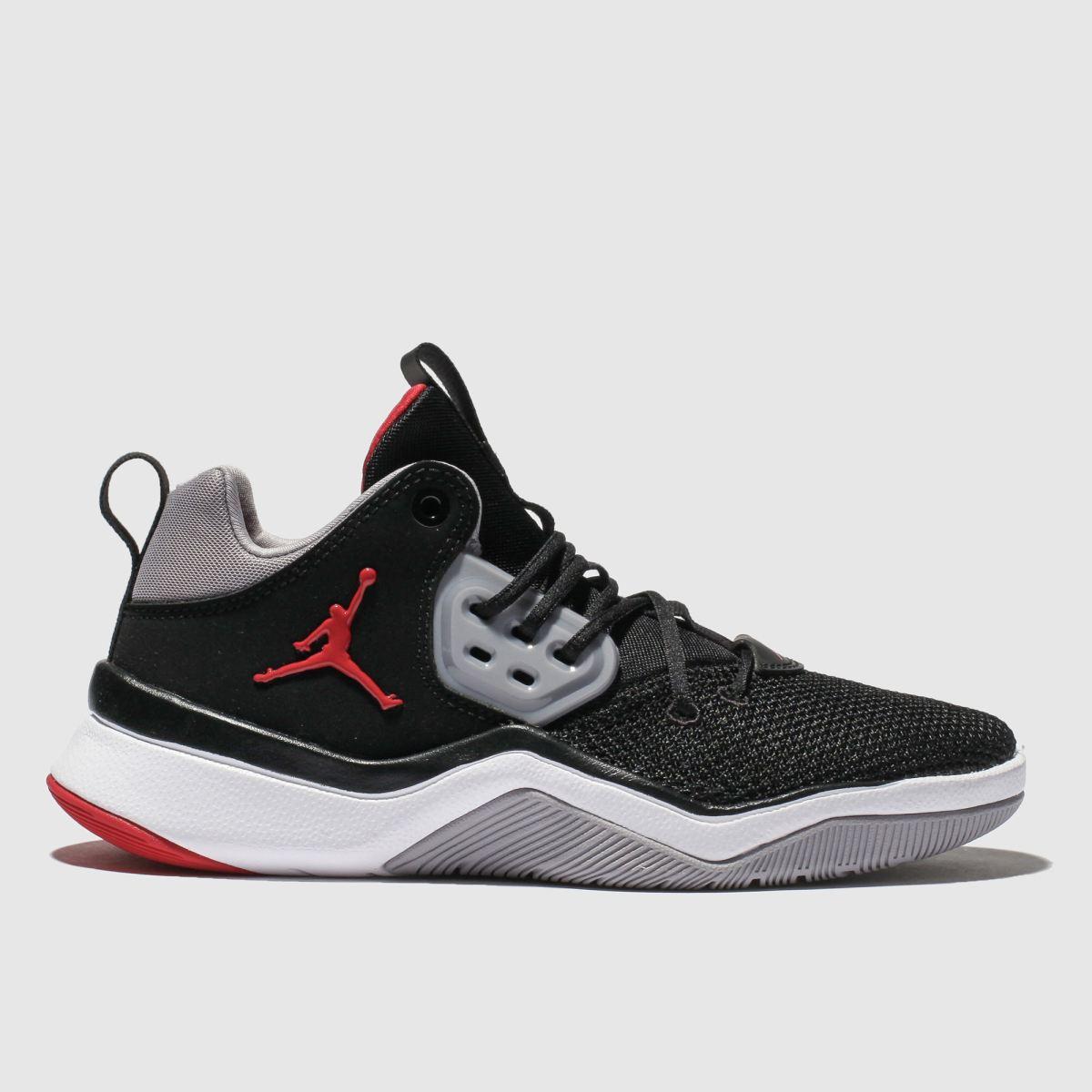 Nike Jordan Black & Grey Jordan Dna Trainers Youth