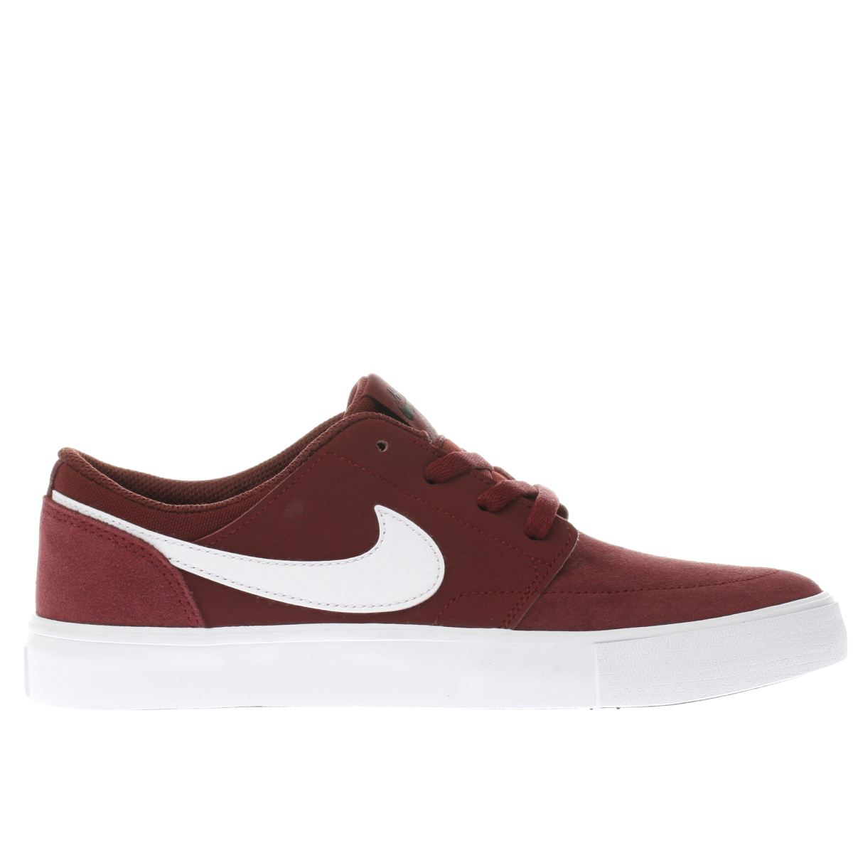 nike sb burgundy portmore ii Youth Trainers