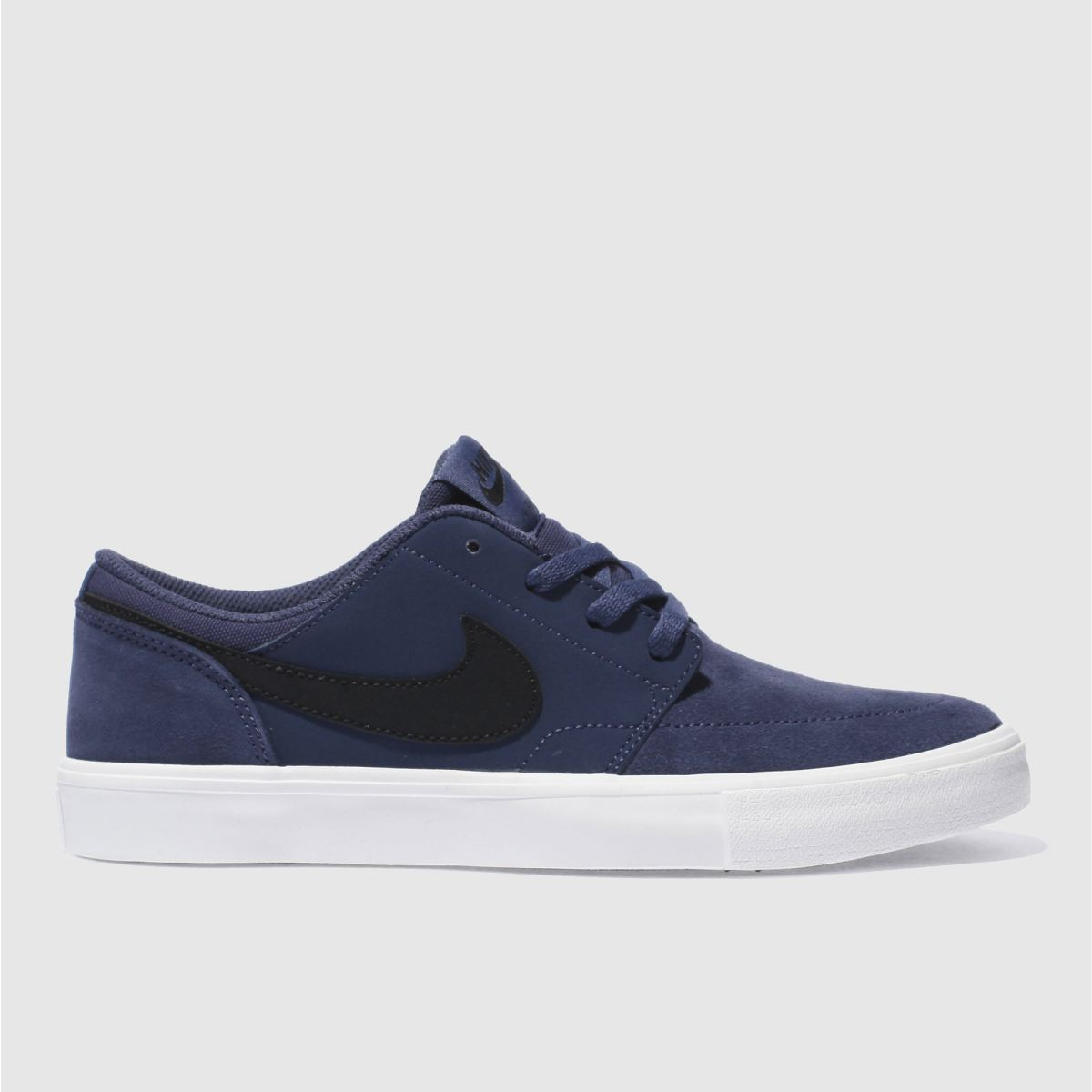 nike sb navy portmore ii Youth Trainers