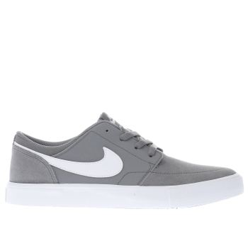 Nike Sb Grey Portmore Ii Unisex Youth