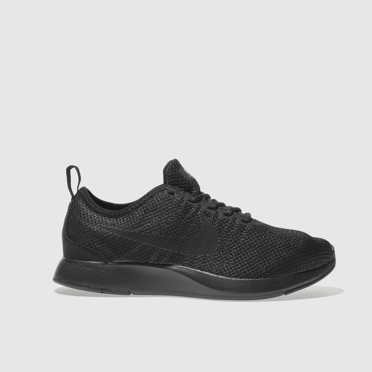 nike black dualtone racer Youth Trainers