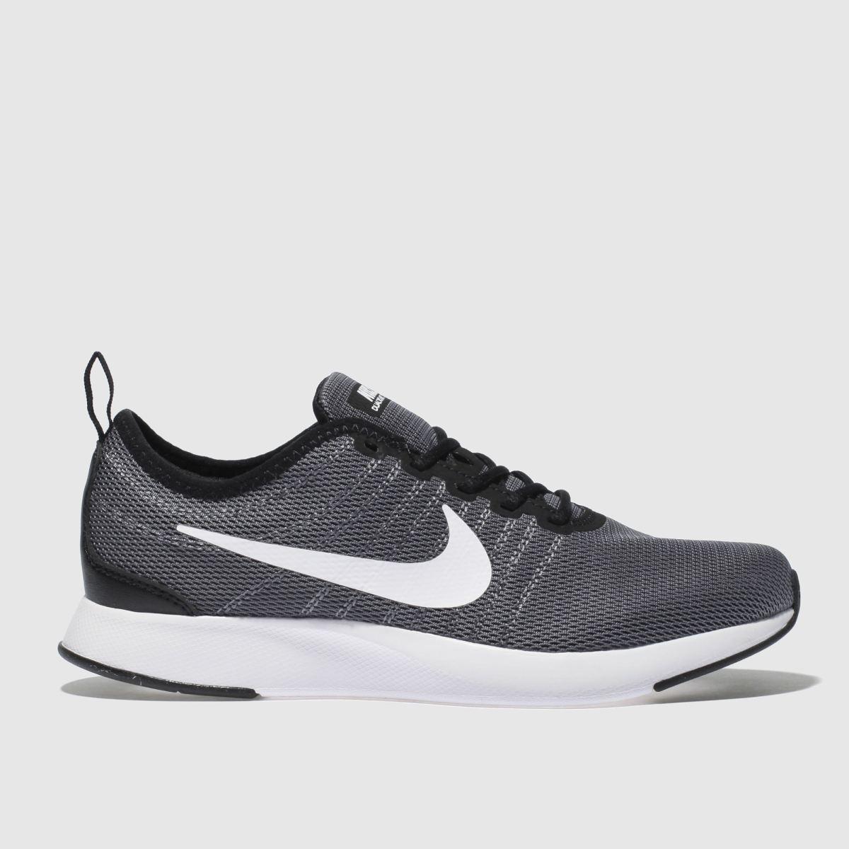 Nike Grey Dualtone Racer Trainers Youth