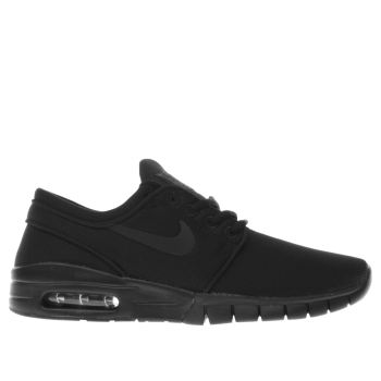 Nike Sb Black Janoski Max Unisex Youth