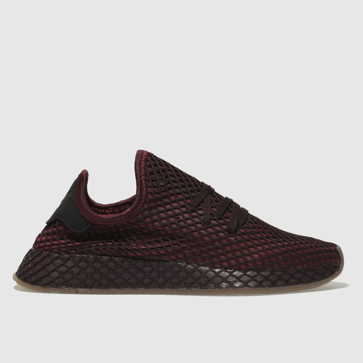 Adidas Burgundy Deerupt Runner Trainers Youth