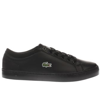Lacoste Black Straightset Unisex Youth