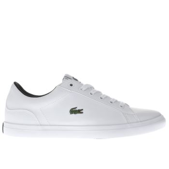 Lacoste White Lerond Unisex Youth