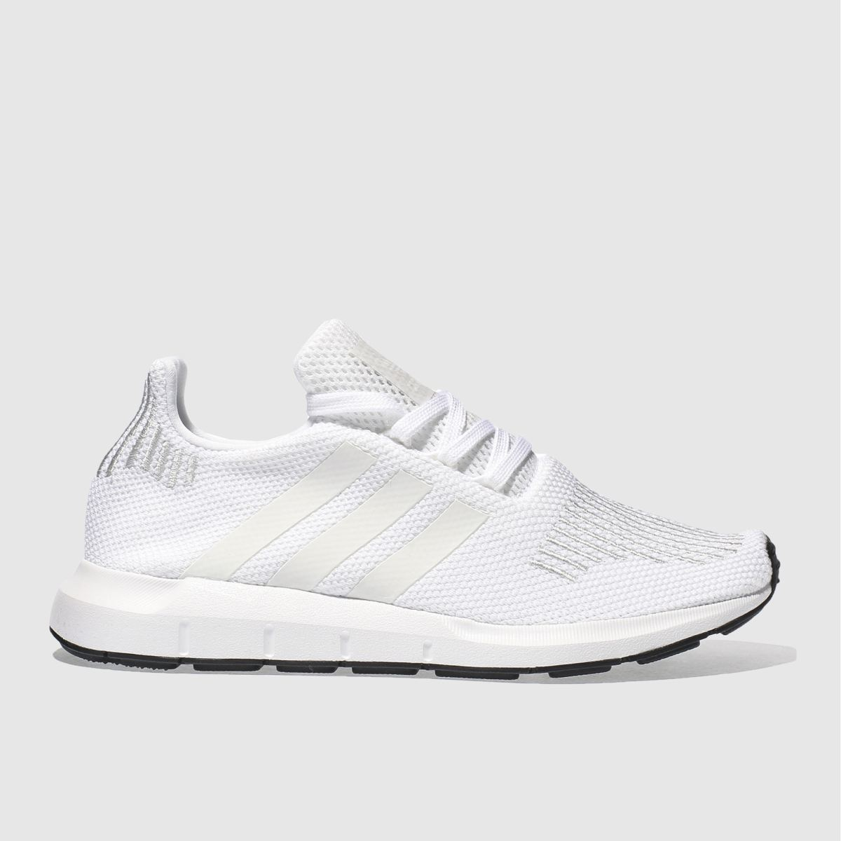 adidas white swift run Youth Trainers