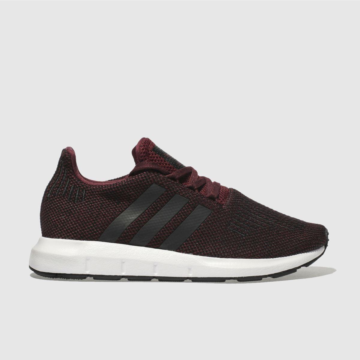 Adidas Burgundy Swift Run Unisex Youth Youth