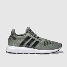 Adidas Green Swift Run Unisex Youth