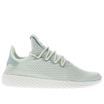 Adidas Green Pharrell Williams Tennis Hu J Unisex Youth