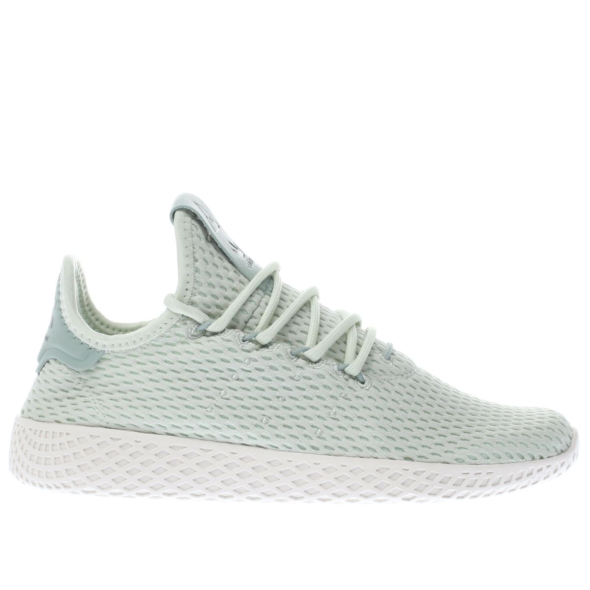 adidas light green pharrell williams tennis hu j Youth Trainers