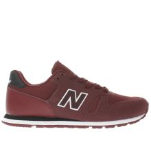 New Balance Burgundy 373 Unisex Youth