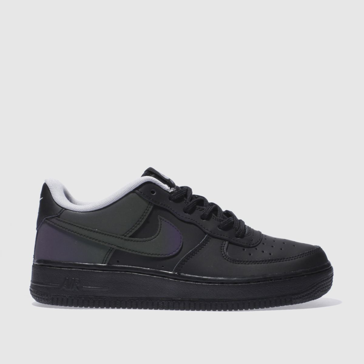 nike black air force 1 lv8 Youth Trainers