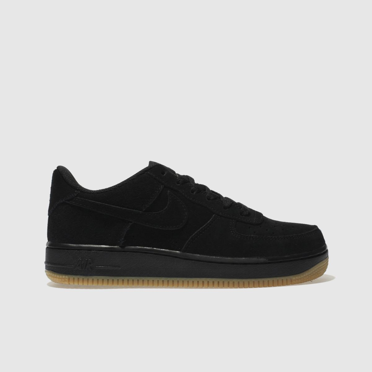Nike Black Air Force 1 Premium Unisex Youth Youth