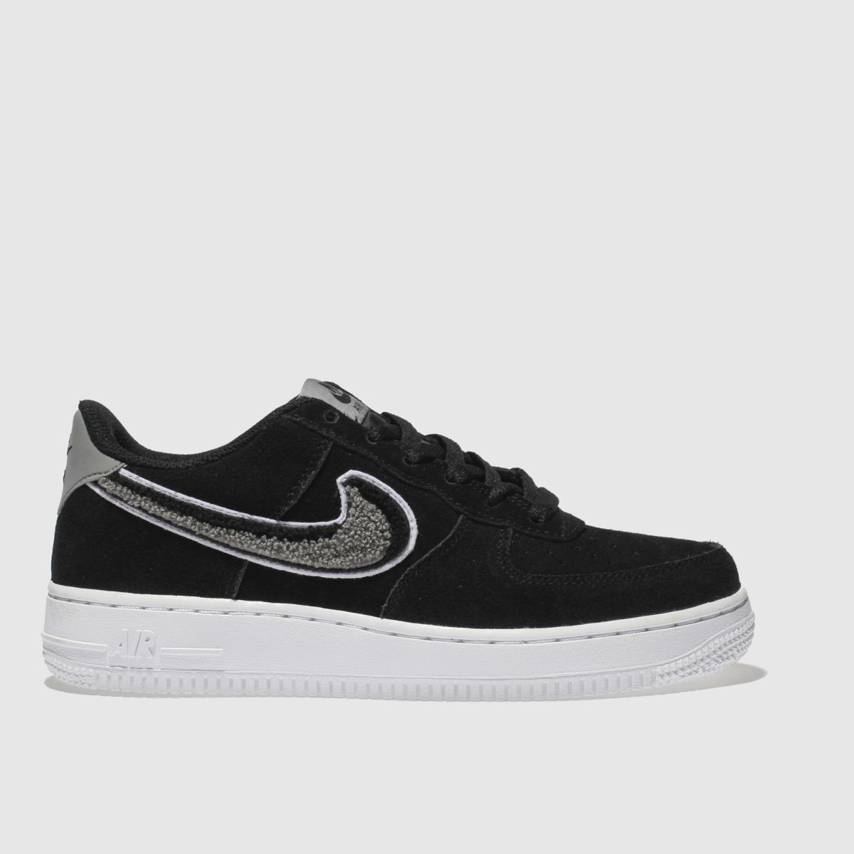 Nike Black & White Air Force 1 Lv8 Unisex Youth Youth