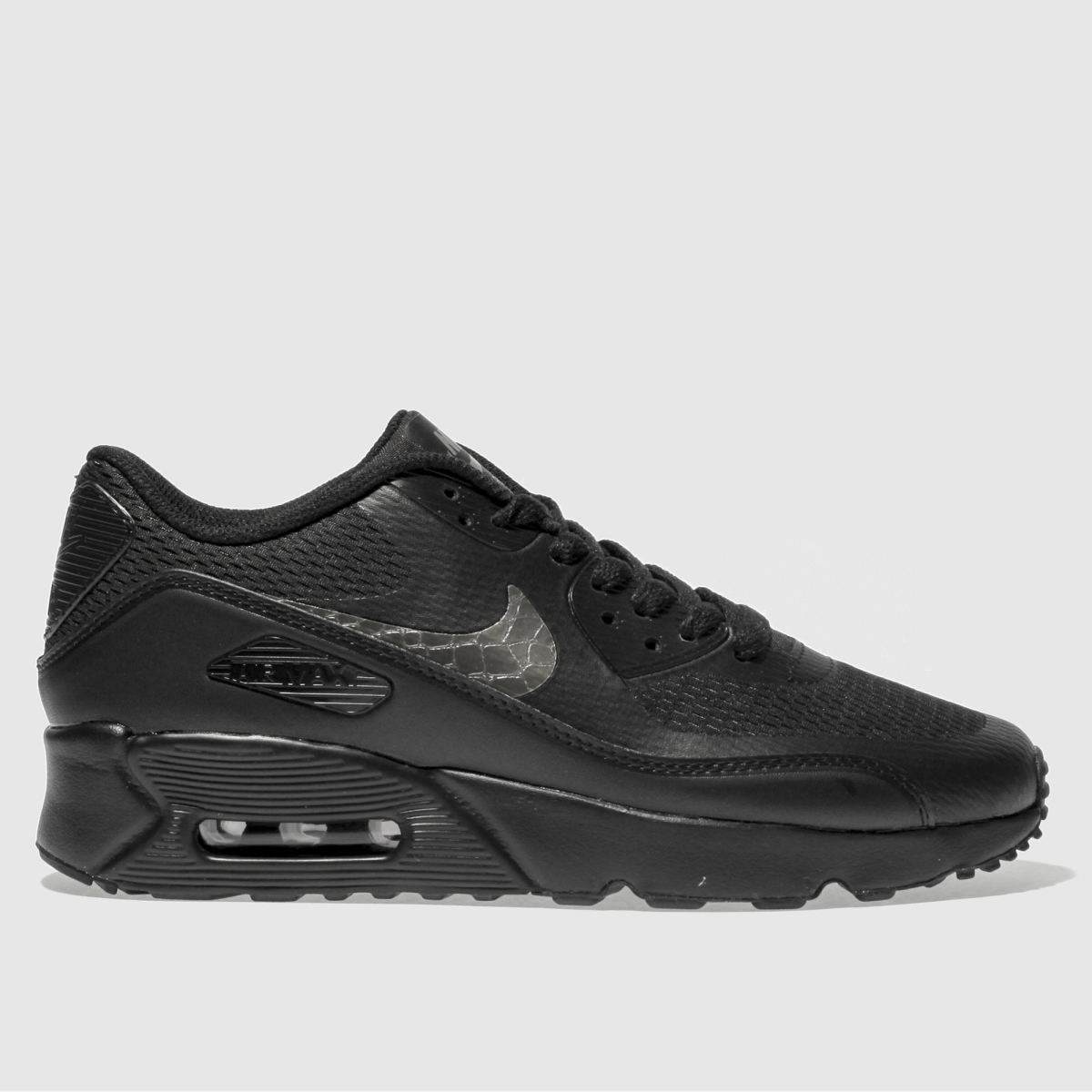 Nike Black Air Max 90 Ultra 2.0 Youth Trainers