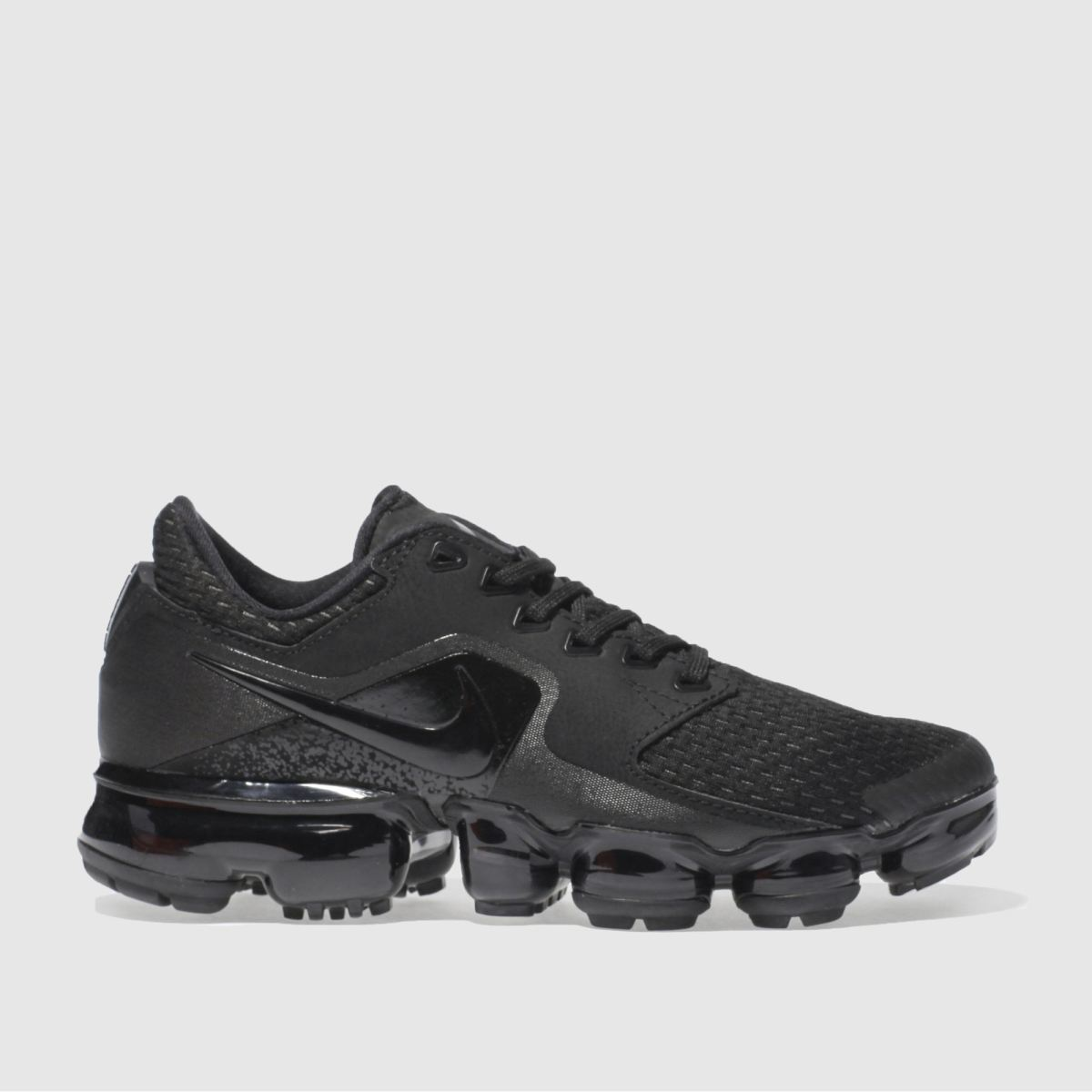 nike black air vapormax Youth Trainers