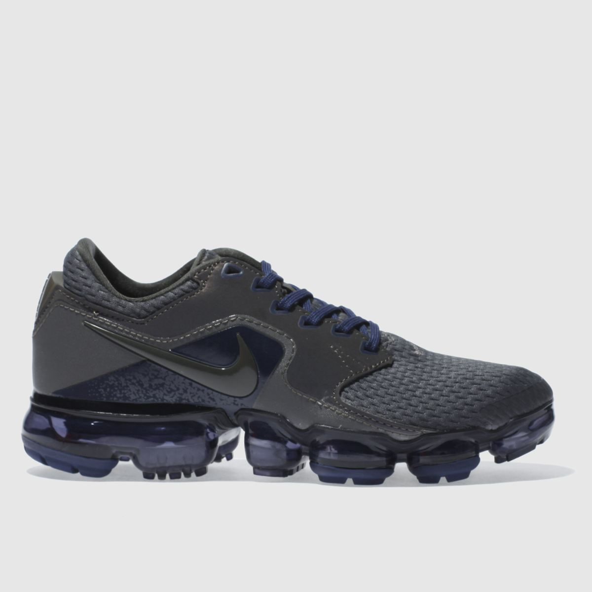 nike grey & black air vapormax yth Youth Trainers