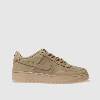 Nike Tan Air Force 1 Winter Premium Unisex Youth